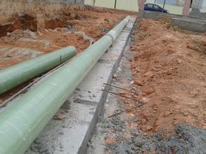 BOB直播官网app化工污水排放管安装案例